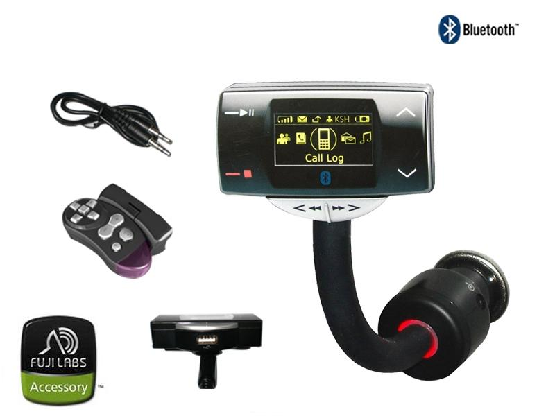 Fuji Labs BlueTrip8100 Multimedia Bluetooth Car Kit with FM Tran